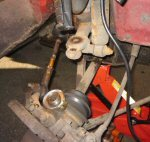 Re-shimming the top ball joint